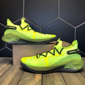 Under Armour Steph Curry 6 Team Coy Fish Lime